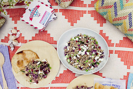 Stylish summer picnic from Oh Joy!  Picnic Ideas: Style Tips for a Relaxed Outdoor Meal Stylish summer picnic from Oh Joy 270x180