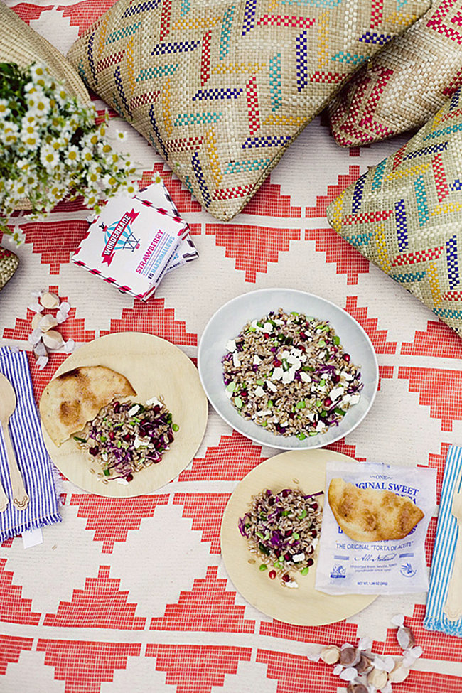 Stylish summer picnic from Oh Joy!