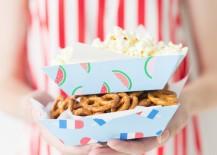 Summer snack trays from Studio DIY