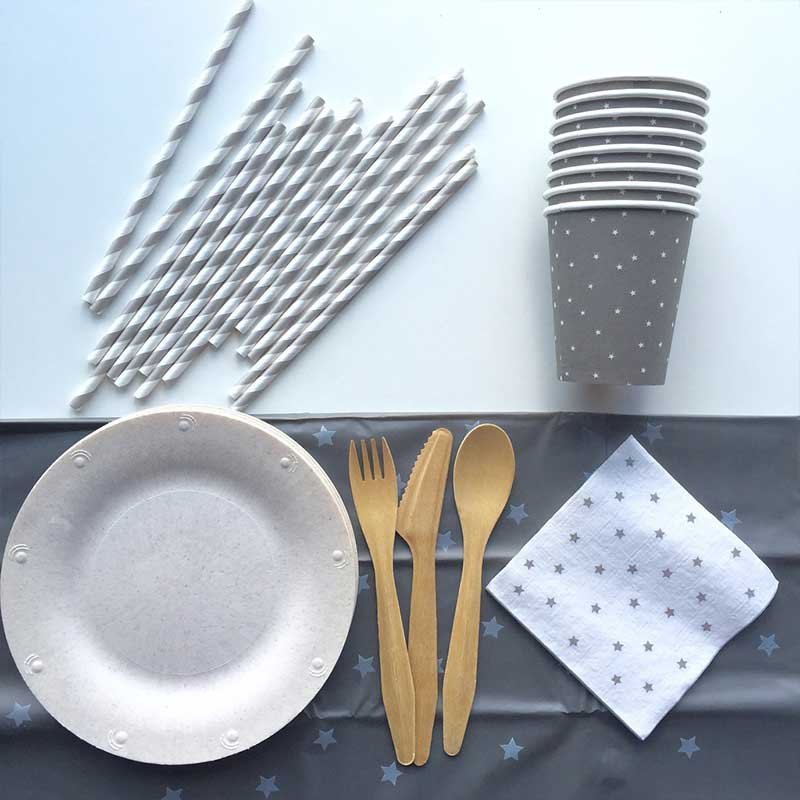 Susty Party biodegradable disposable tablewear