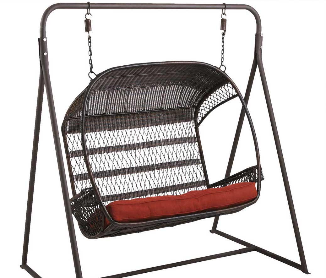 Swingasan Chair with Red Cushion