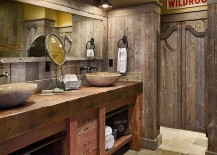 Swinging-saloon-doors-for-the-stylish-rustic-bathroom-217x155