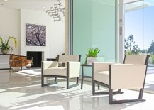 Terrazzo tile in a modern living room 217x155 The Sleek Beauty of Modern Terrazzo Floors
