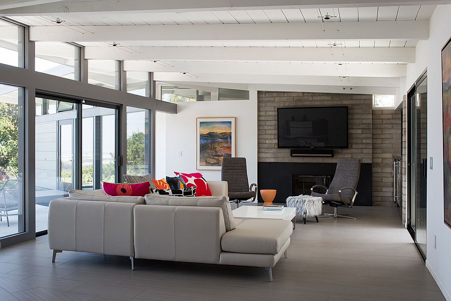 1950s mid century modern home remodel by klopf architecture for 1950s modern house design