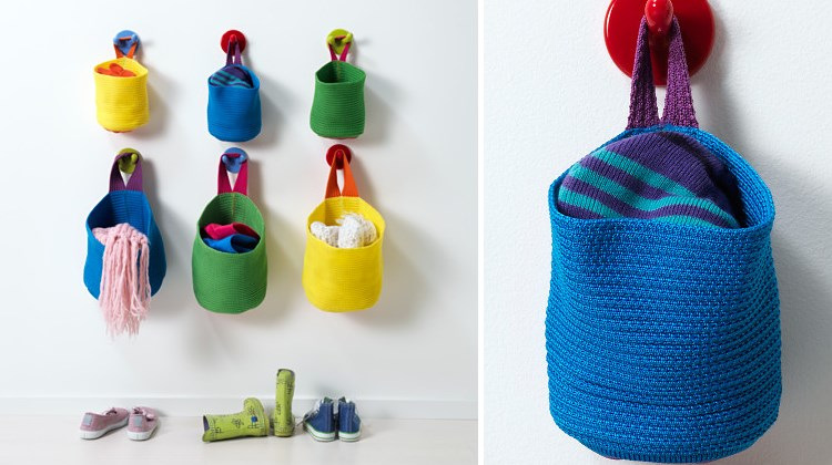 Toy storage solution from IKEA