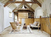 Tranquil-living-room-with-warm-reclaimed-wood-wall-217x155
