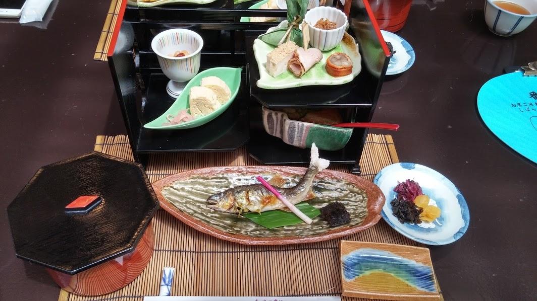 Treasure Box of Kaiseki Ryouri at Hirobun in Kibune