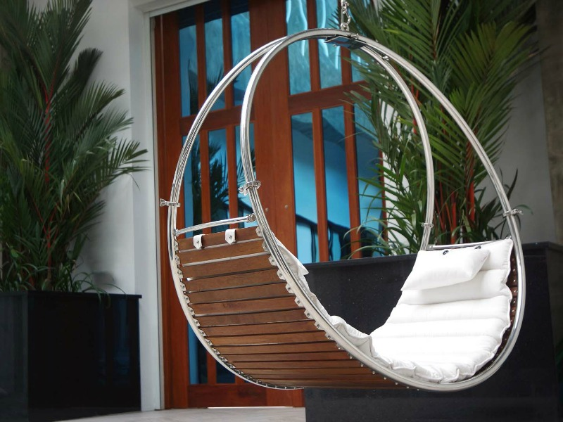 indoor hammock circle chair rattan swing rocking