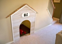 Under Stairs Dog Bed