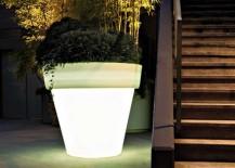 Vas Outdoor Illuminated Plant Pot