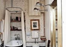 Vintage-rustic-bathroom-design-with-claw-foot-bathtub-217x155