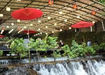 Waterfall Dining Kawadoko Kibune