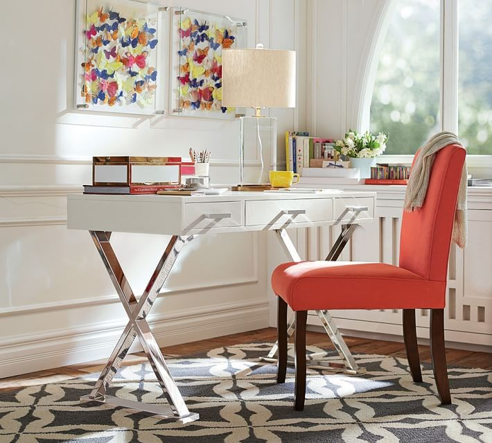 Relatively 15 Home Offices Featuring Trestle Tables as Desks FS32