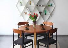 Wooden bookshelf by Jaanus Orgusaar