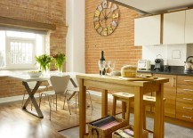Wooden-surfaces-in-the-kitchen-complement-the-smart-brick-backdrop-perfectly-217x155