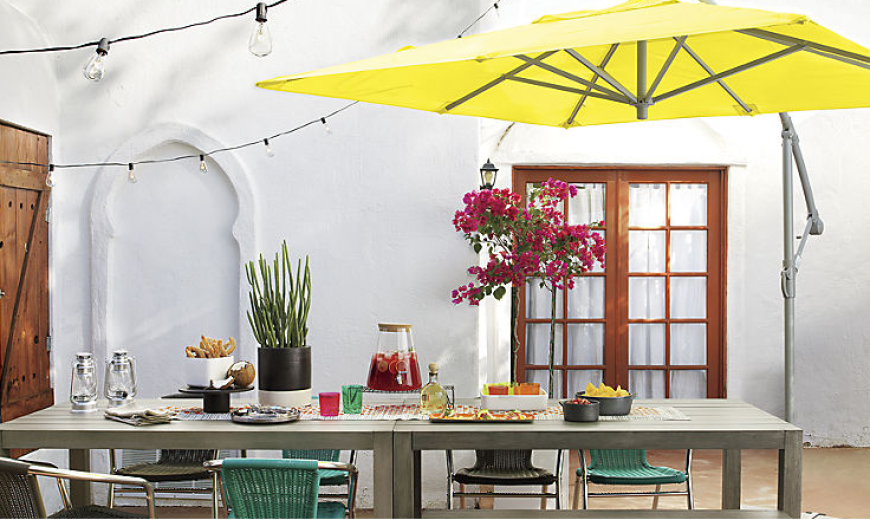Not Just for the Beach: How to Use Umbrellas in Your Garden or Patio