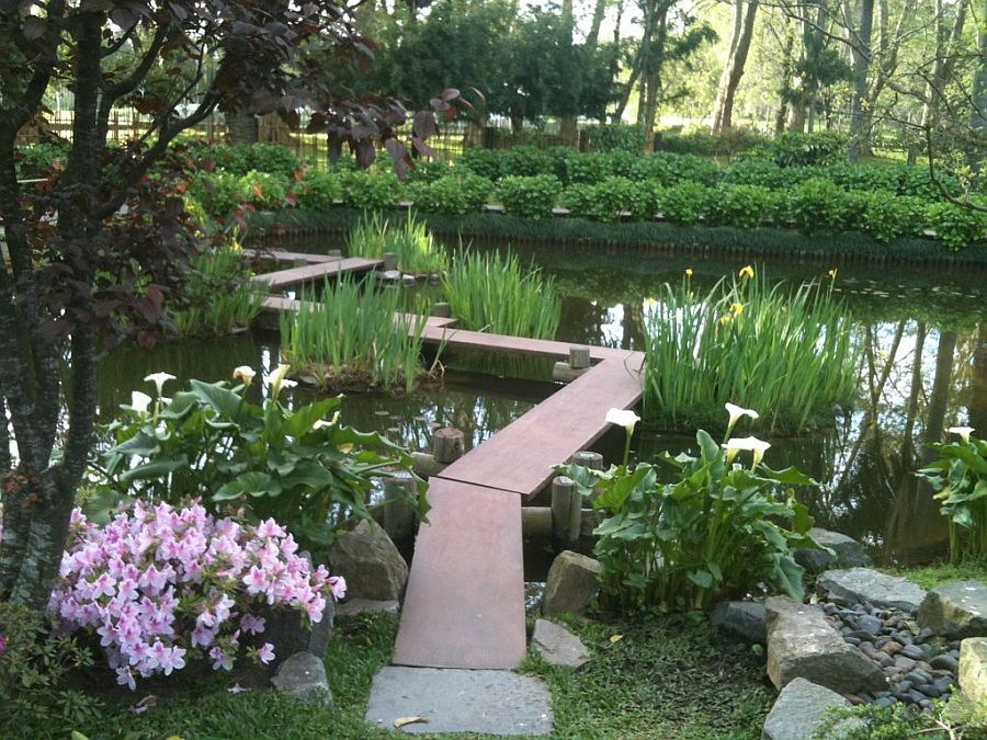 Japanese Garden Stone Bridge 50 dreamy and delightful garden bridge ideas