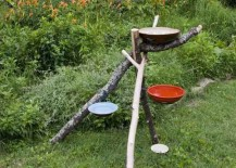 birdbath water park 1 217x155 7 Resourceful DIY Birdbath Ideas to Bring Life to Any Yard
