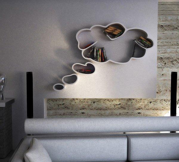 bookshelves cloud