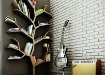 bookshelves tree 217x155 22 Extremely Creative Bookshelves