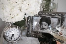 clock nightstand 1  18 Bedside Nightstands Styled Just Right clock nightstand 1 270x180