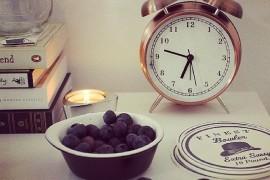 clock nightstand 2  18 Bedside Nightstands Styled Just Right clock nightstand 2 270x180
