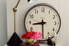 clock nightstand 3  18 Bedside Nightstands Styled Just Right clock nightstand 3 270x180
