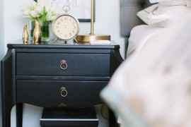 clock nightstand 3 again  18 Bedside Nightstands Styled Just Right clock nightstand 3 again 270x180