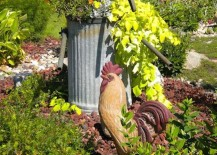 Country-style garden statue ideas