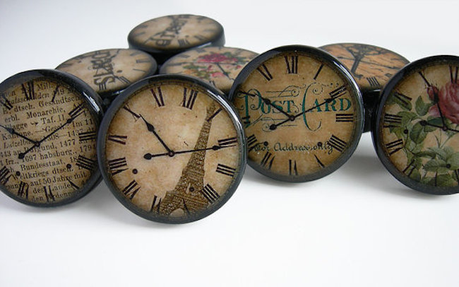 drawer knobs clocks 1