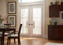 ... coverings and frosted designs, to Roman shades and tall curtains,  there's sure to be something on this list to inspire you if you've got French  doors in ...