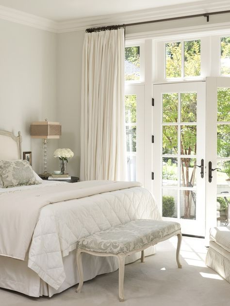15 brilliant french door window treatments Window coverings for bedrooms