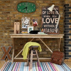 home office rustic 2
