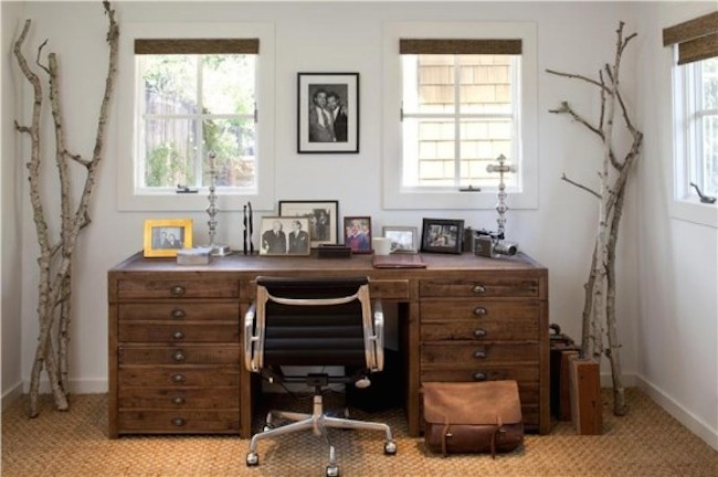 home office rustic 3