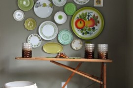 ironing board table 16  Turn a Vintage Ironing Board into a Stunningly Useful Table ironing board table 16 270x180