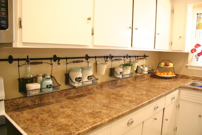 Storage friendly accessory trends for kitchen countertops - Small kitchen no counter space model ...