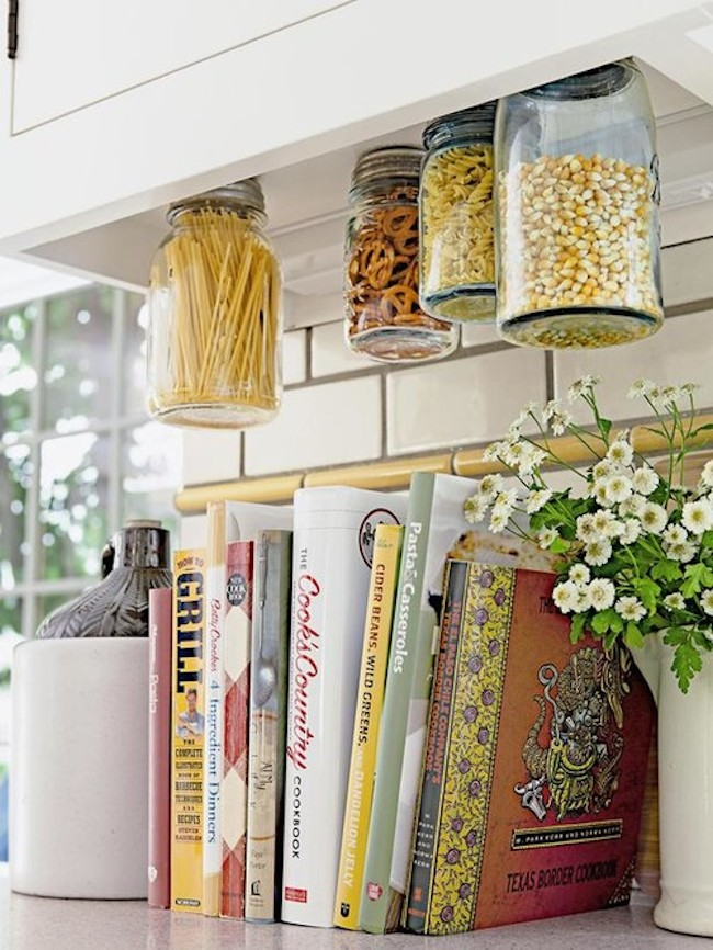 kitchen hanging jars