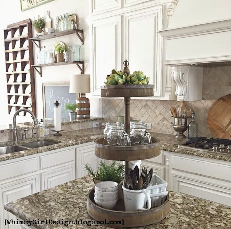 Use Accessories To Link Your Island To The Rest Of Your: Storage-Friendly Accessory Trends For Kitchen Countertops