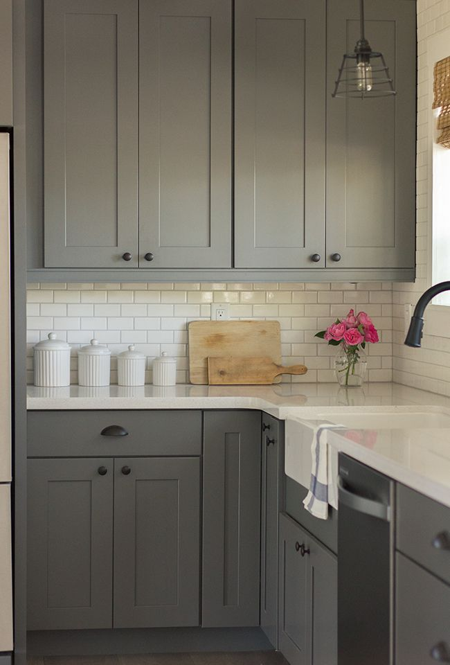 kitchen white canisters