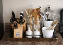 ... Kitchen Countertops Far Too Often, Then Maybe Itu0027s Time For A Storage  Overhaul. Here Are Some Cool (but Simple) Ways You Can Maximize The Surface  Area ...
