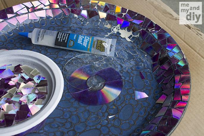 mosaic birdbath 2