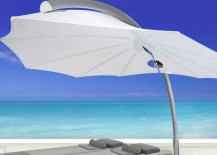 Outdoor Umbrellas Can Be Made From All Kinds Of Materials, And Can Suit  Various Styles Of Decor.