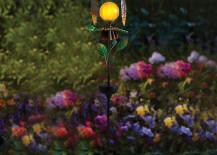 Solar-powered owl