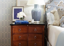 wall art nightstand 3 217x155 18 Bedside Nightstands Styled Just Right