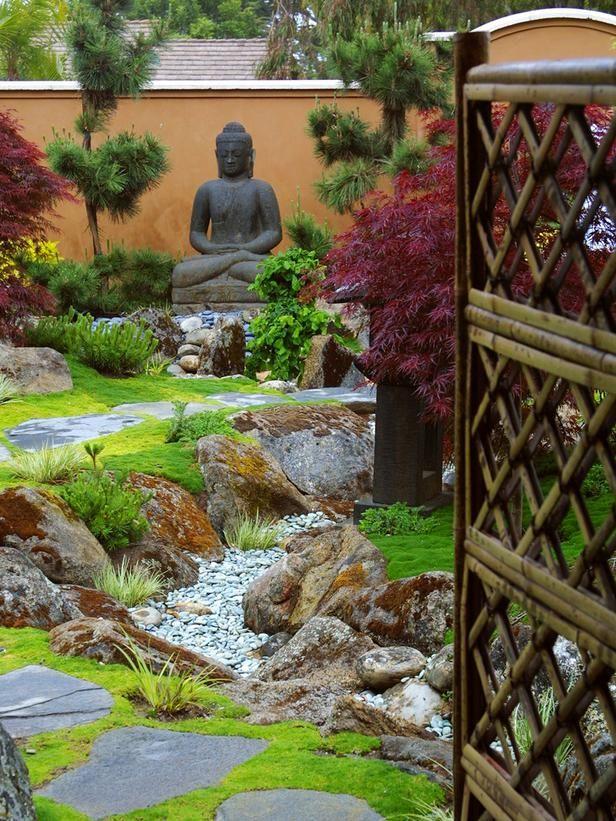 zen garden style