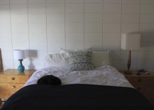 A bedroom in need of a refresher