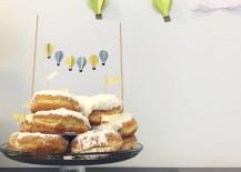 Baby Shower Donut Cake