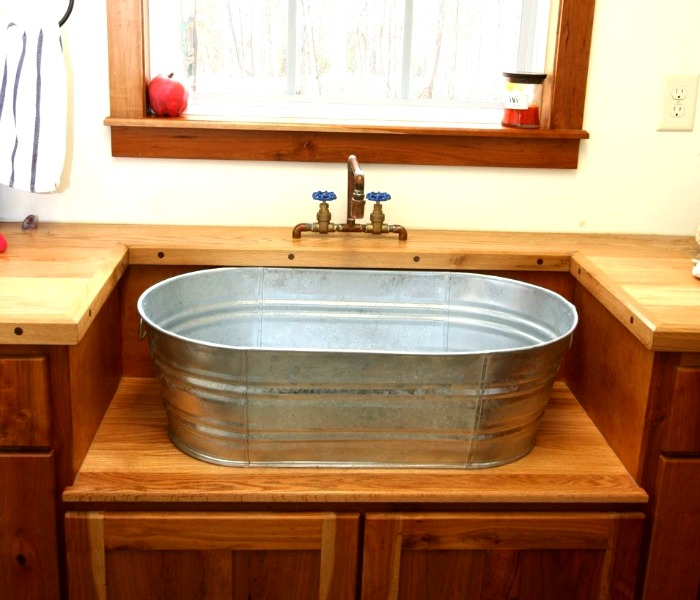 Easy-to-find yet uncommon for a sink