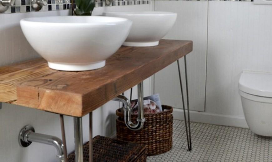 13 Crazy Creative Diy Bathroom Vanities