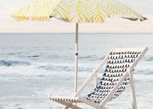 Beach umbrella from West Elm 217x155 15 Summer Clearance Sale Items You Wont Want to Miss